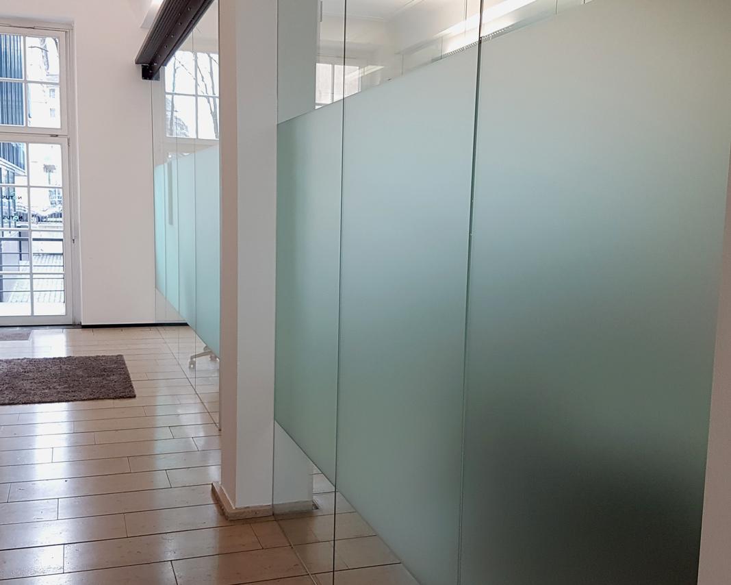 Sichtschutzfolie – Milchglasfolie