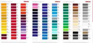 Farbpalette 751C LCDwand